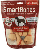 SmartBones Medium, 4 pack