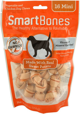 SmartBones Mini, 16 pack