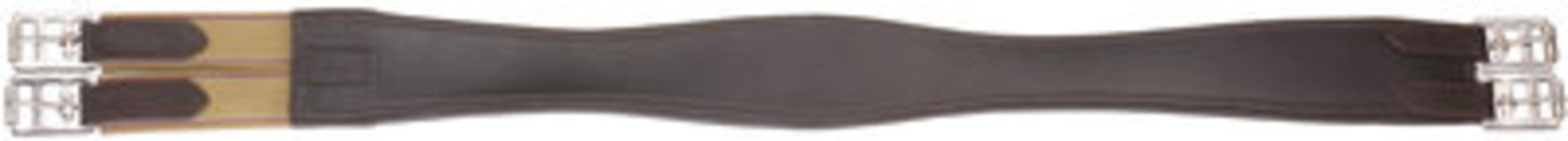 Smooth Panel Leather Girth