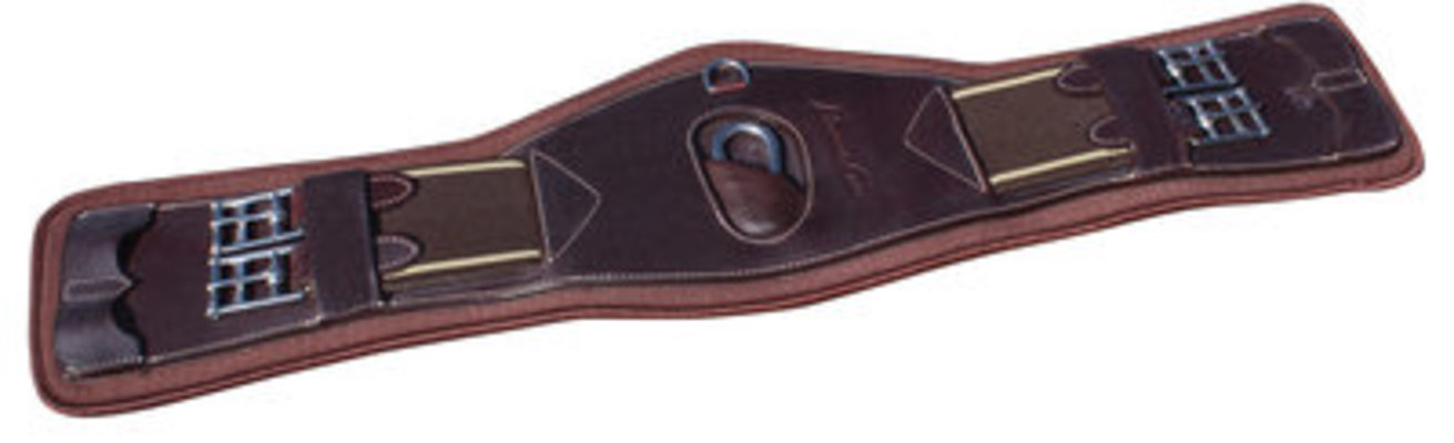 SMx VenTECH Leather Monoflap Girth