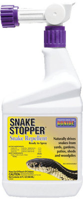 Snake Stopper™, 32 oz spray w/ hose attachment