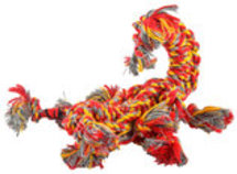 SnakeBiter Scorpion Premium Rope Dog Toy