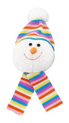 Snowball with Knit Scarf, each