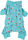 Blue Snowmen Christmas Dog Pajamas