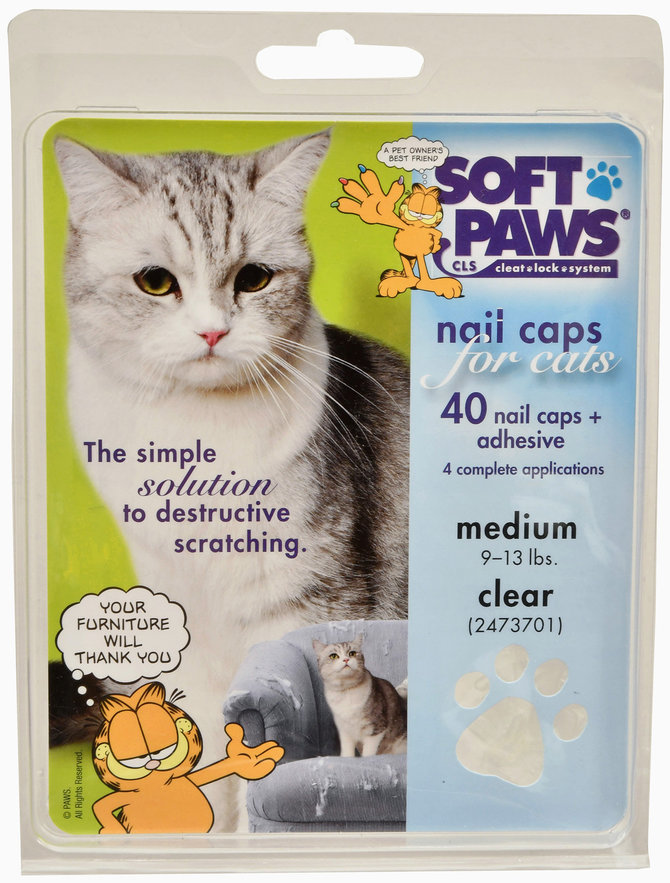 Soft Paws Cat Nail Caps, 49 Piece Kit | Jeffers Pet