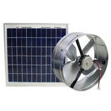 Solar Powered Gable Mount Ventilator, 13""