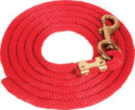 Solid Poly Lead Rope, Bolt Snap