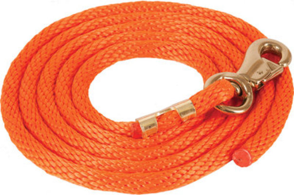 Solid Poly Lead Rope, Bull Snap