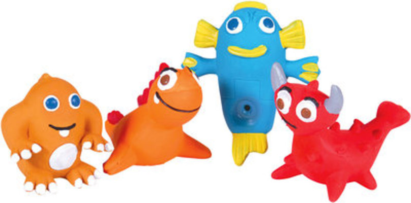 Space Pets Latex Toys, Each