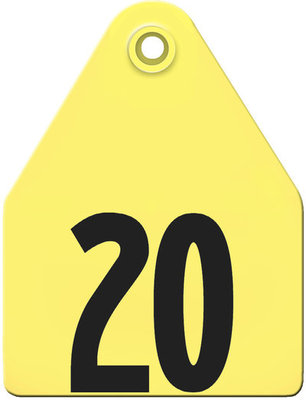 AgriTag Custom Numbered Ear Tags (Maxi), 25 count