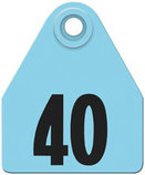 AgriTags Custom Numbered Ear Tags (Medium), 25 count