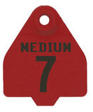 Duflex Custom Panel Ear Tags (Medium), 25 count