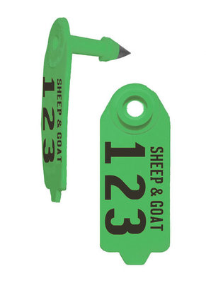 Duflex Sheep & Goat Tags, 25 Numbered Special Order