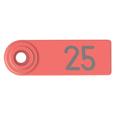 25 Special Order Numbered Allflex Sheep/Goat Ear Tags