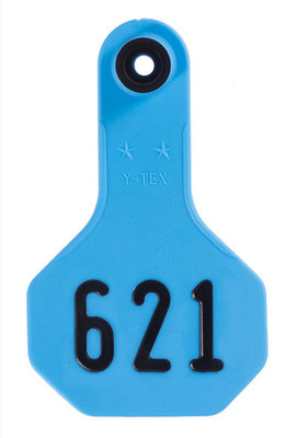 Y-Tex Custom Numbered Ear Tags (Small), 25 count