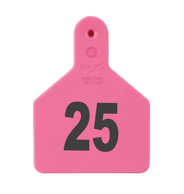 Z Tags Custom Ear Tags (Calf), 25 count