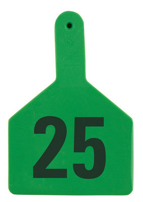 Z Tags Custom Ear Tags (Cow), 25 count