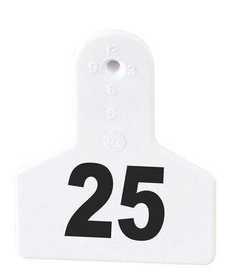 Z Tags Custom Livestock Ear Tags (Small), 25 count