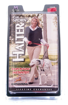 "Sporn Training Halter, Medium (neck 12 - 17"")"