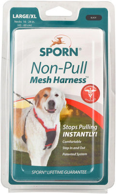 Sporn Non-Pulling Mesh Harness, Large/X-Large