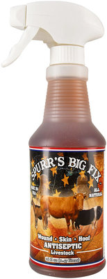 Spurr's Big Fix Antiseptic Livestock Spray