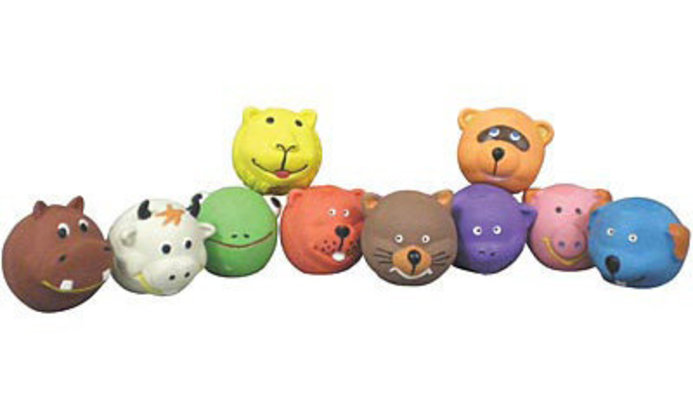 Squeakies Latex Dog Toys, each (Assorted)