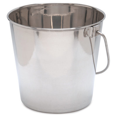 2 Quart Stainless Steel Pail