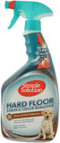 Simple Solution Hardfloors Stain + Odor Remover, 32 oz spray