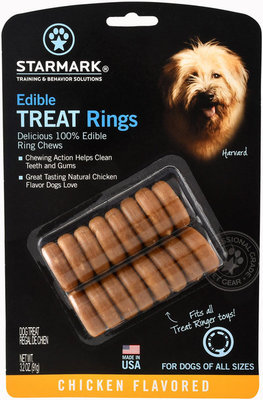 Starmark Edible Treat Rings, 16-pack