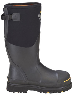 Steel-Toe Protective Work Boots without Gusset