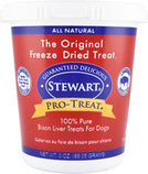 Stewart Pro-Treat Freeze-Dried Bison Liver Treats for Dogs