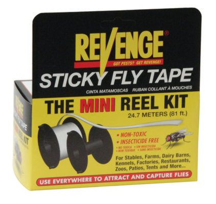 Revenge Sticky Fly Tape - Mini Reel Kit