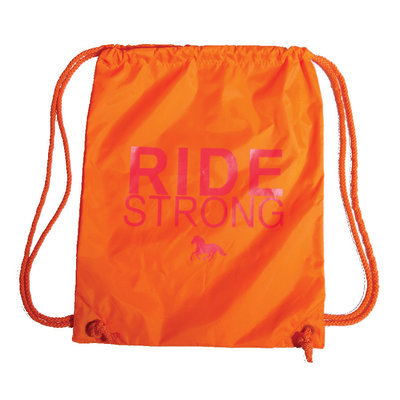 "Stirrups Cinch Back Pack, ""Ride Strong"""