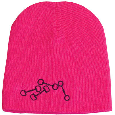 Stirrups Embroidered Knit Beanie