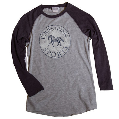 Equestrian Sports Baseball Tee