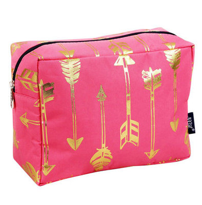 """Straight & Arrow"" Cosmetic Bag"