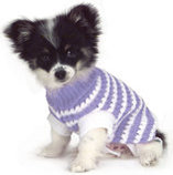 "24"" Stripe Knit Pet Sweater"
