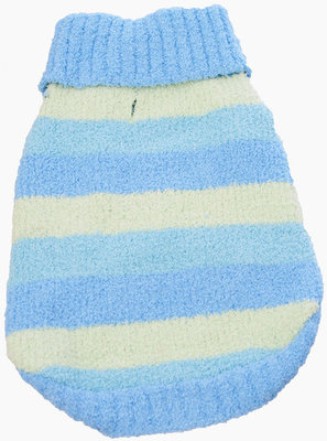 Blue Stripe Dog Sweaters, Medium