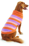 Stripe Dog Sweaters, Orange