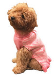 Stripes & Ruffles Dog Sweater