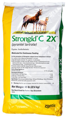 Strongid C 2X  Concentrated Daily Equine Anthelmintic