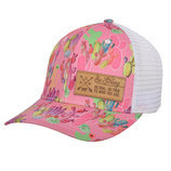 STS Patch Cap in Pink Cactus