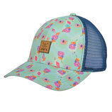 STS Patch Cap in Turquoise Floral