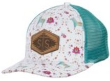 STS Watercolor Donkey Patch Hat, Ladies