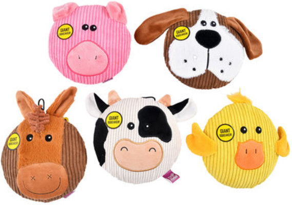 Sub-Woofers Flat Assorted Farm Animals
