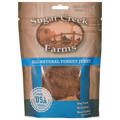 3.5 oz, Turkey, Sugar Creek Farms Jerky