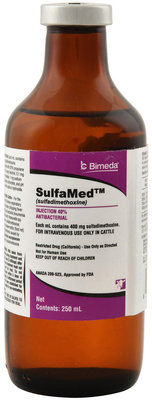 SulfaMed 40% Injection, 250 mL
