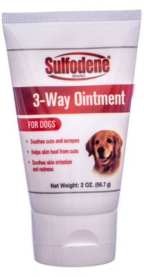 Sulfodene 3-Way Ointment for Dogs, 2 oz