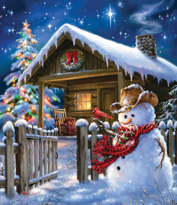 """Christmas Cheer"" 550 piece Jigsaw Puzzle"