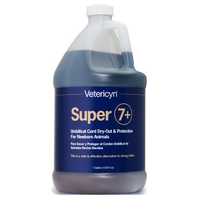 Vetericyn® Plus Super 7+ Navel Dip, Gallon